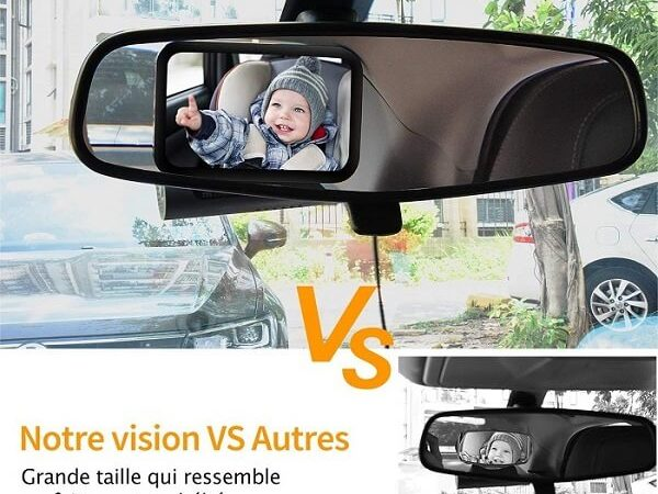 Avis Miroir Auto de surveillance OMorc ( Pour une Sécurité à 360° )
